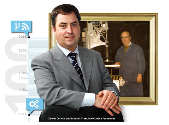 Xavier Conesa Tecnomatrix CEO